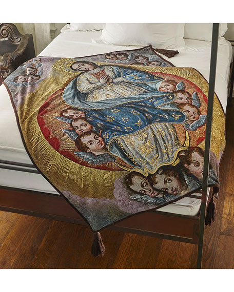 Our Lady of Little Angels Throw