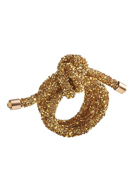 Kim Seybert Glam Knot Napkin Ring, Gold