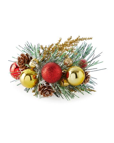 Holiday Bough Napkin Ring