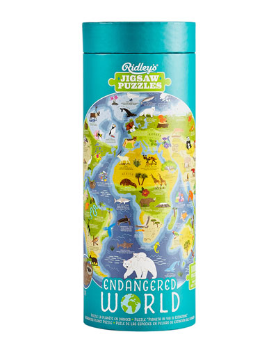 Endangered World 1 000-Piece Jigsaw Puzzle