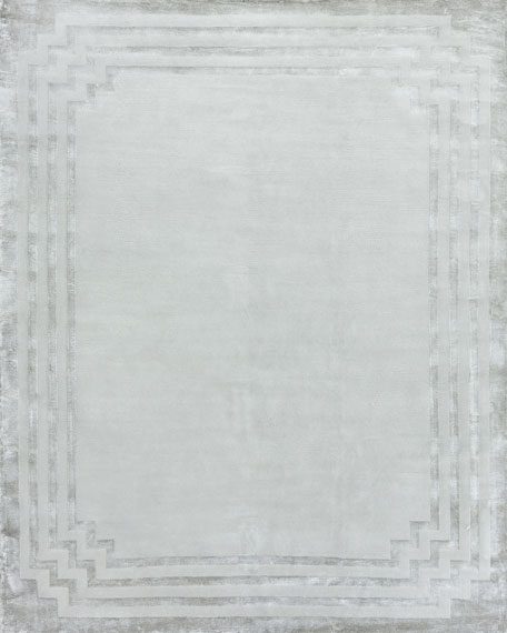 Olympia Hand-Knotted Rug, 6' x 9'
