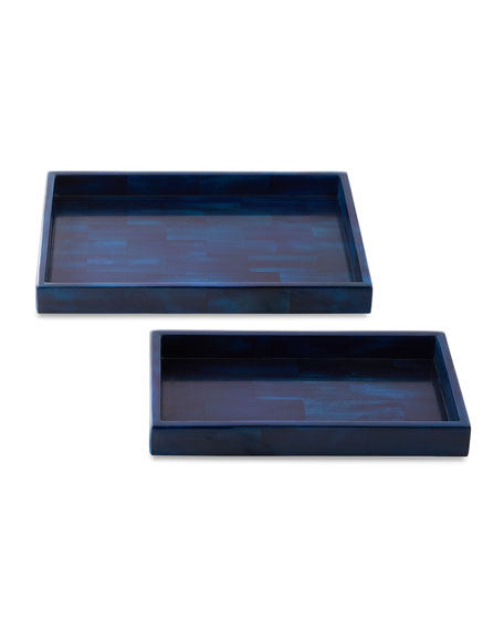 Pigeon and Poodle Arles Nested Trays, Set of