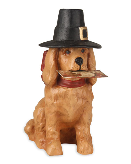 Thanksgiving Dog Decoration