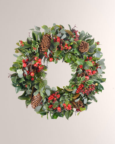 Holiday Deluxe Wreath 32