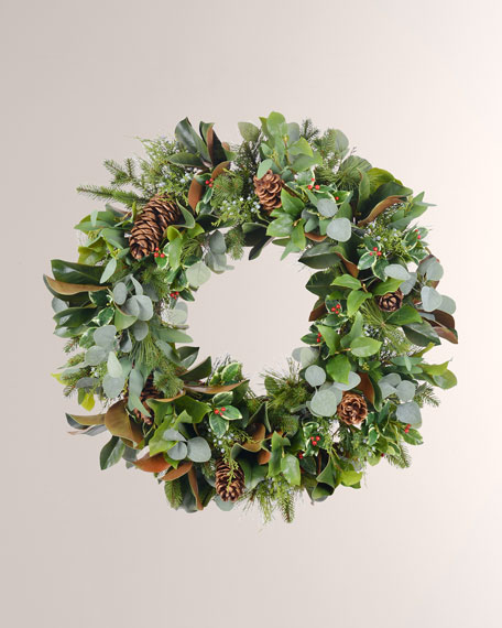 "American Holiday Wreath 30"""