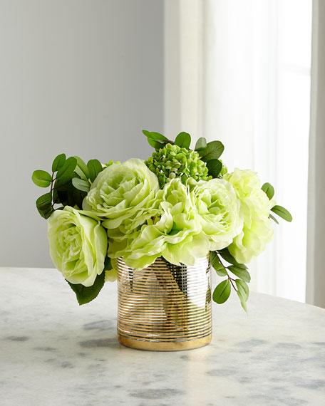 John-Richard Collection Mixed Green Faux Floral Arrangement