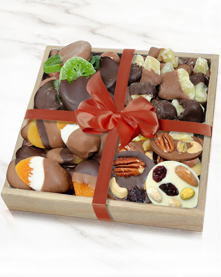 Chocolate Covered Company Premium Belgian Chocolate Dipped Fruit