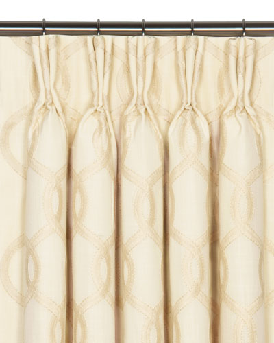 Gresham Pinch Pleat Curtain Panel  96L