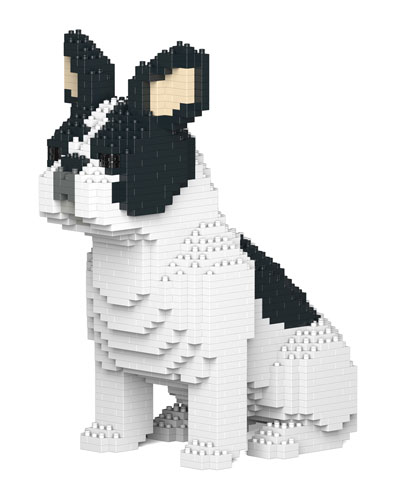 Plastic Bricks French Bulldog