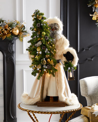 Golden Opulence Black Santa  29