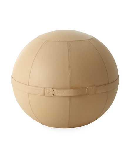 Large Leather Sitting Ball