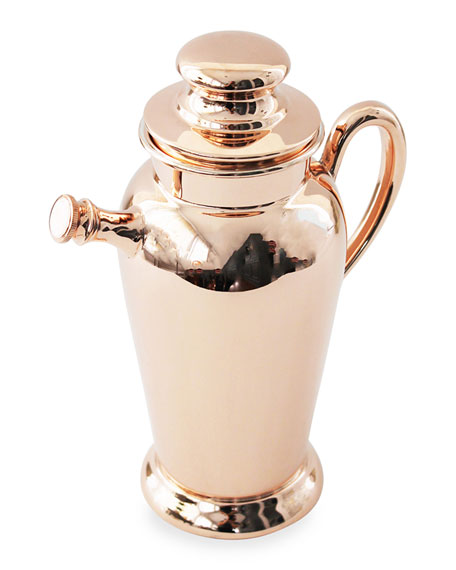 Coppermill Kitchen Copper & Silver Cocktail Shaker (Early