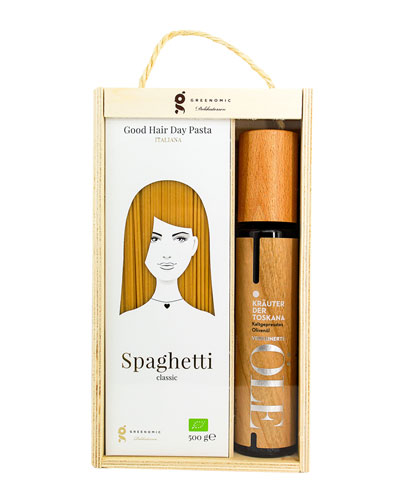 Good Hair Day Pasta & Olive Oil Gift Set