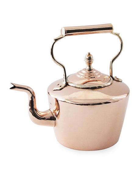Coppermill Kitchen English Tea Kettle Late 19th Century