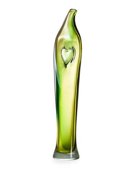 Bali Green Tall Vase