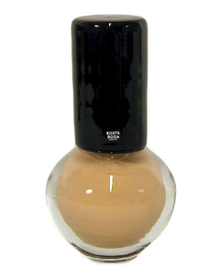 AJ Makeup Round Beige Nail Polish Decor - Limited Edition of 60