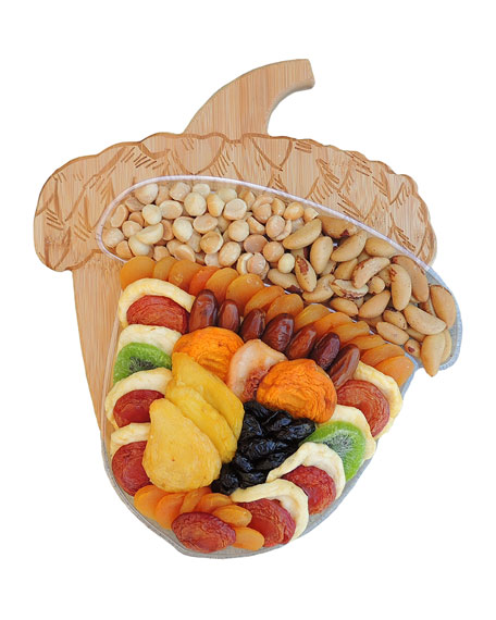 Acorn Fruit & Nut Cutting Board Fruit Tray