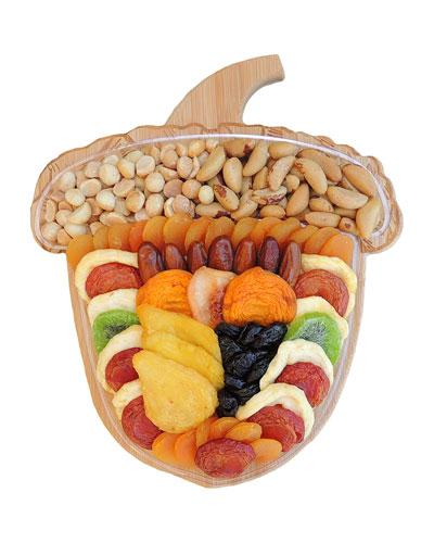 Acorn Fruit & Nut Cutting Board Fruit Tray