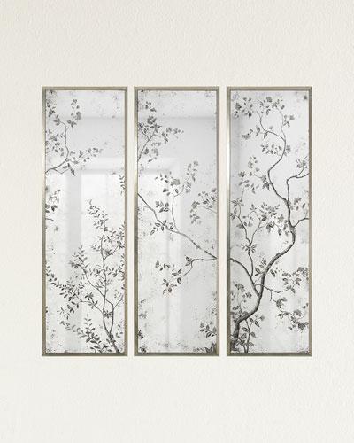 Pastorale Mirror Panels  Set of 3