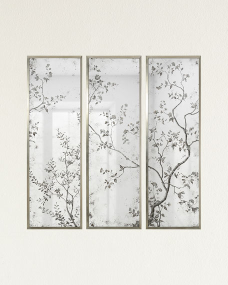 Pastorale Mirror Panels, Set of 3