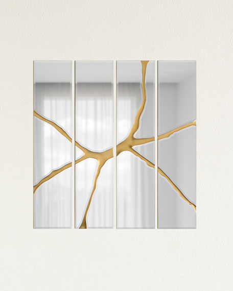 John-Richard Collection Ravine Quartet Mirror Panels