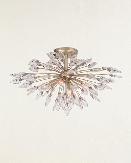 Reveille Crystal Constellation 4-Light Semi-Flush Light Fixture