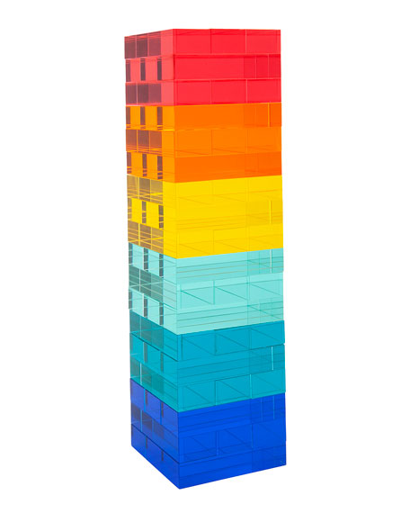 Acrylic Stacking Tower Game