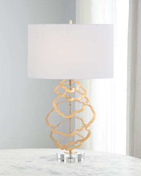 John-Richard Collection Floating Discs Table Lamp