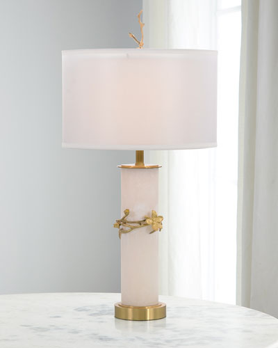 Flowering Quince Table Lamp