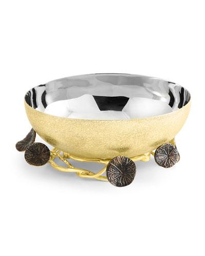 Monets Garden Golden Sunset Small Bowl