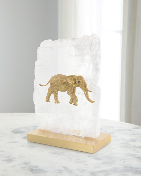 John-Richard Collection Loxodonta Adaurora Elephant Decor