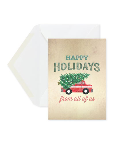 Holiday Cargo Greeting Cards  Set of 25