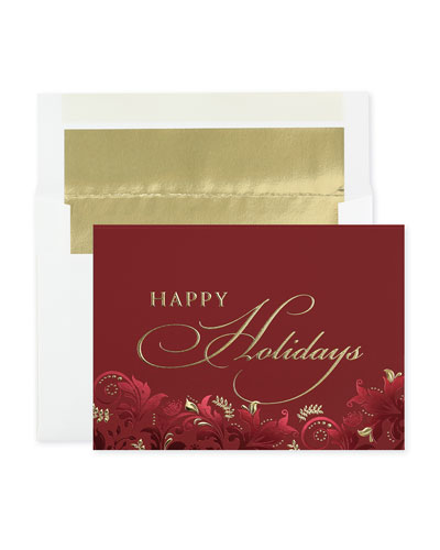 Exquisite Holiday Cards  Set of 25