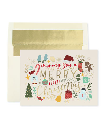 Christmas Imagery Cards  Set of 25