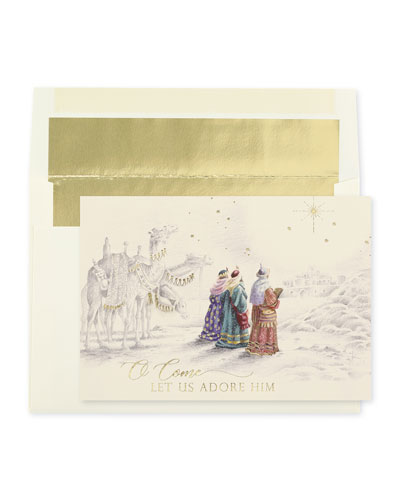 Guided By The Star Greeting Cards  Set of 25