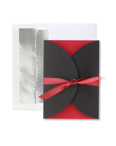 All Tied Up Christmas Cards  Set of 25
