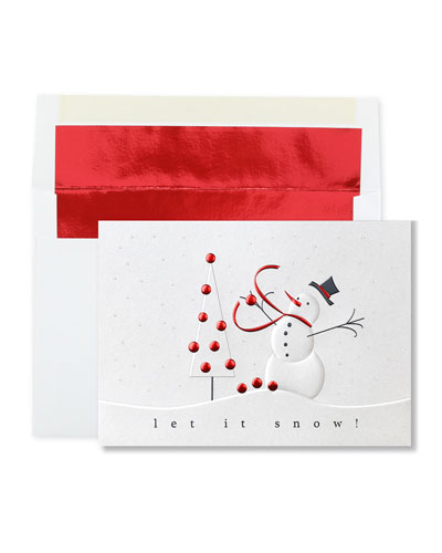 Snowman Fun Holiday Cards  Set of 25