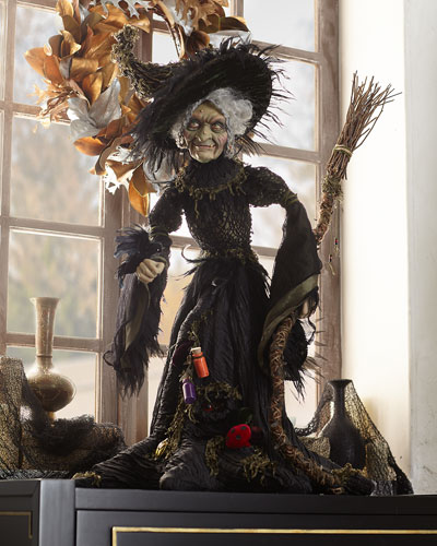 Midnight Witch Figure