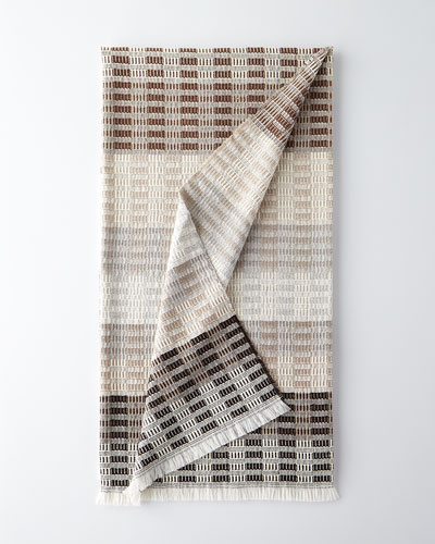 Longhena Espresso Throw