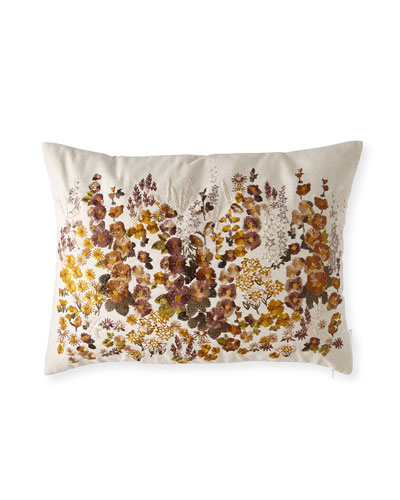 Hollyhock Ochre Pillow