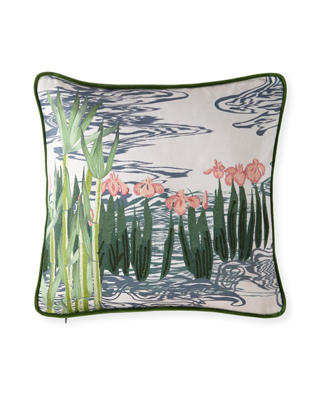 Christian Lacroix Ondine Bourgeon Pillow