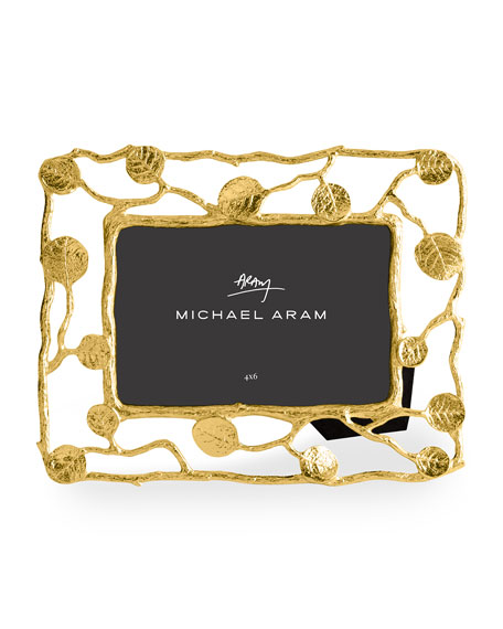 Michael Aram Botanical Leaf Gold Frame, 4