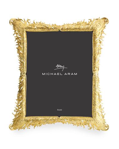 Plume Gold Frame  8 x 10