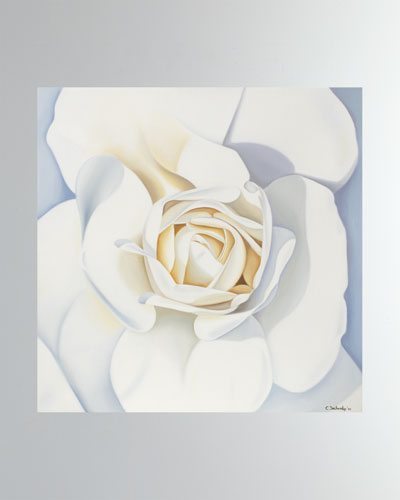 Rose Blanche Fine Art Print