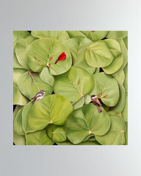 """""""Les Jardins du Triomphe"""" Fine Art Print"""