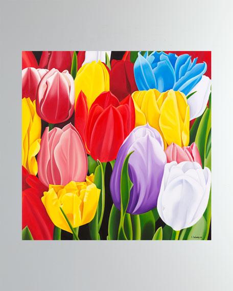 """Tulipes Multicolors"" Fine Art Print"