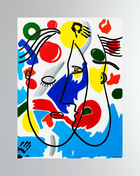 """Les Amants"" Fine Art Print"