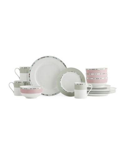 Formal Deco 16-Piece Dinnerware Set