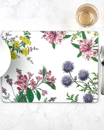 Stafford Blooms Placemats  Set of 4