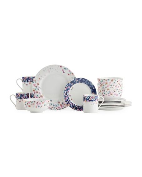 Mid Summer 16-Piece Dinnerware Set